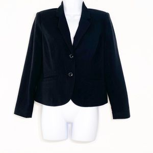 212 Collection Womens black blazer